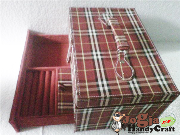 Box Jam isi 12 Plus Laci Perhiasan Handle Cover