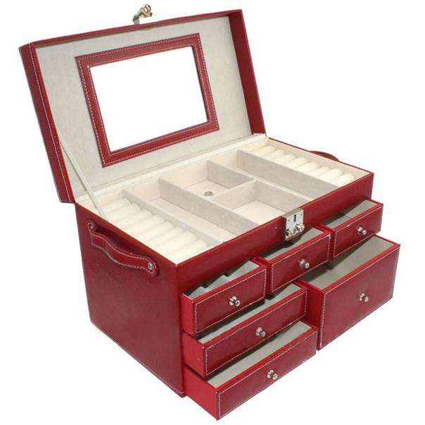 Big Elegan Jewelry Box inner