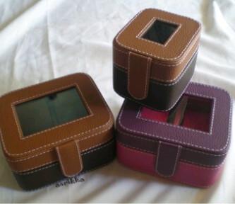 Kotak Jam isi 1 dan 2 Cocok Untuk Souvenir Pernikahan