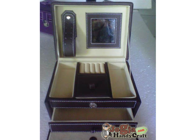 New Model Jewelry Box Coklat Elegan inner preview
