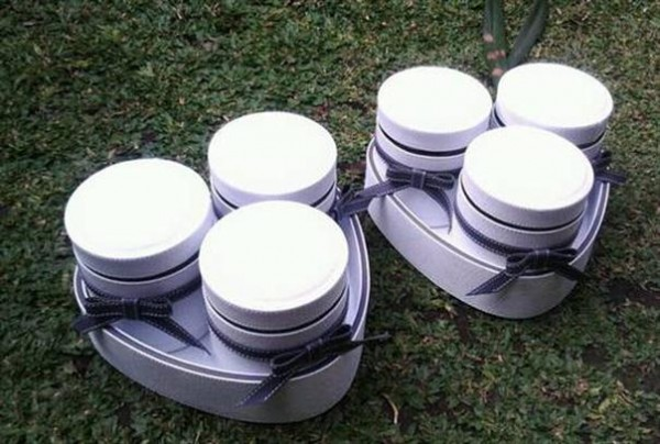 Tray Set Toples Isi 3 Toples White Black