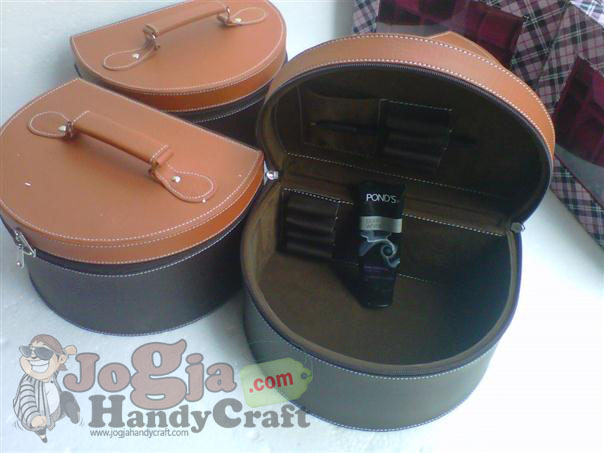 Casual Cosmetic Case 4 Cosmetics Box | Kotak Kosmetik Cantik