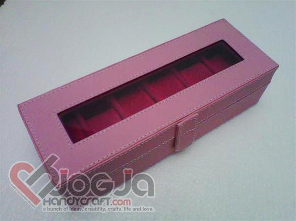 Box Jam Tangan Isi 6 Cute Baby Pink