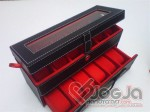 Box Jam Tangan Susun Slot 12 | Kotak Tempat Jam