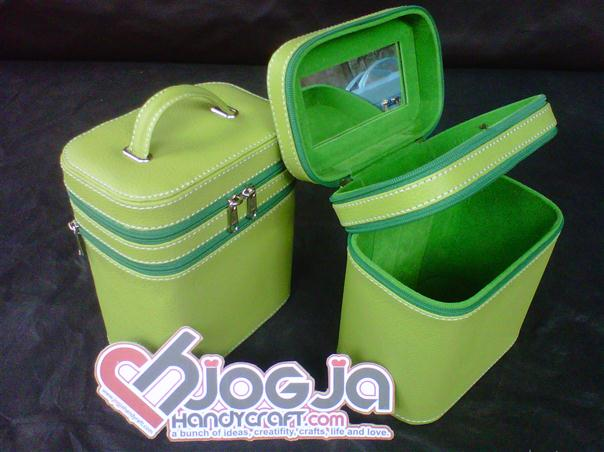 Make Up Case Double Green