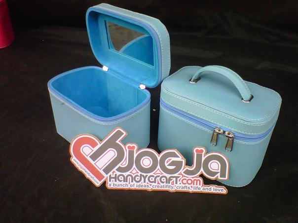 Make Up Case Single Baby Blue