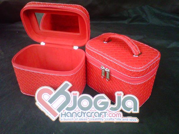 Make Up Case Red Botega