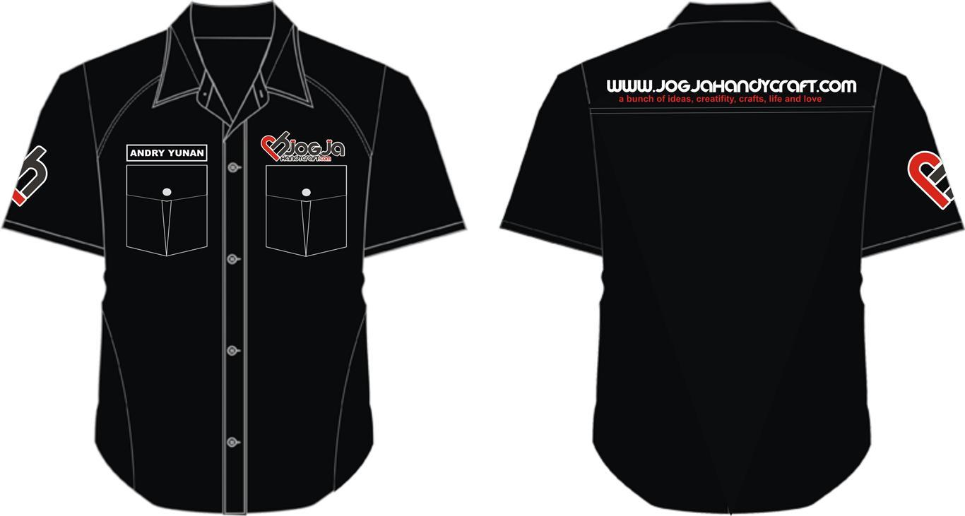 Desain Seragam Crew JH juli 2013