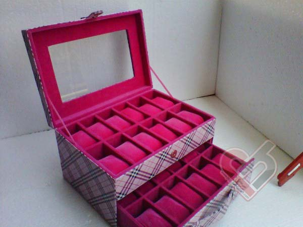 Watch Organizer Isi 24 Burberry Pink