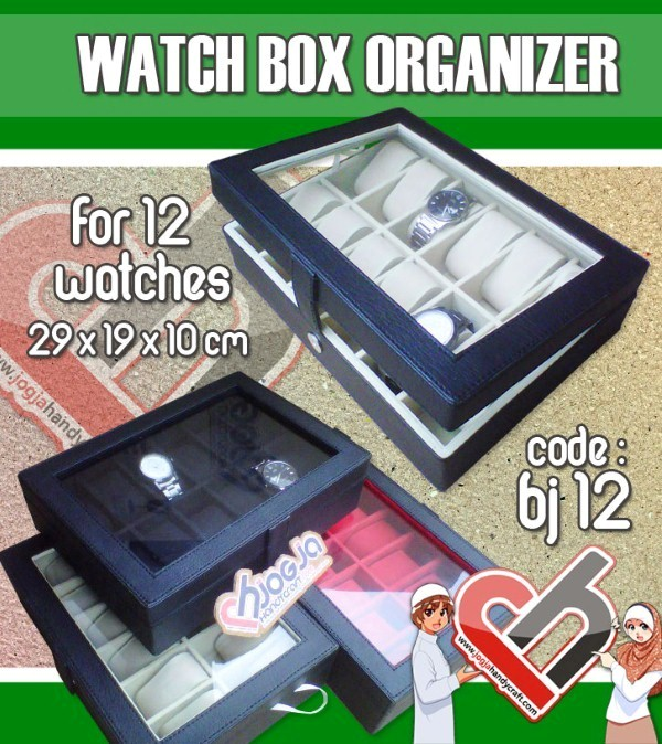 Watch Organizer isi 12