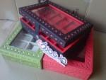 Box Jam Tangan Isi 12 Motif Ukir Cantik Jogja Handycraft