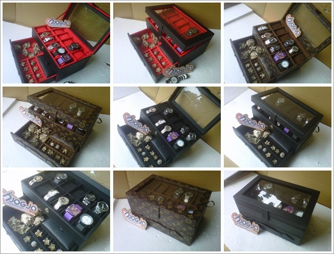 All New Box Jam Tangan Mix Accesories Drawer Jogja Handycraft