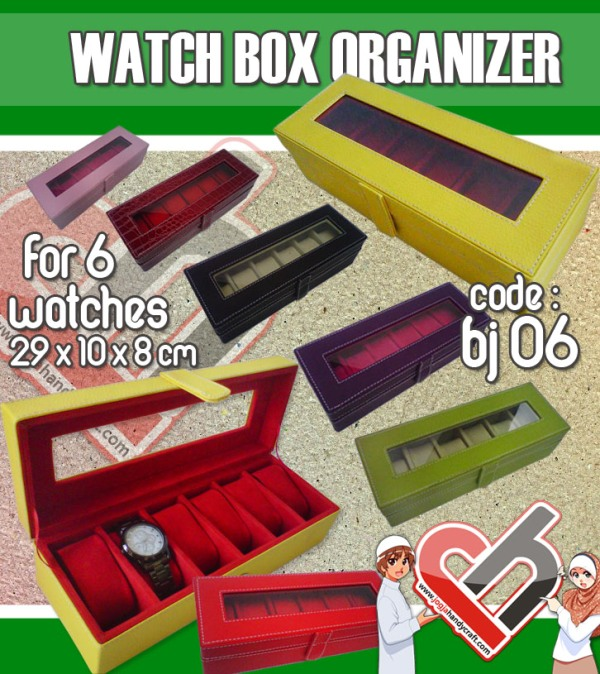 Watch Organiser Vinyl isi 6