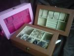 Kotak Jam Tangan Mix Tempat Perhiasan – 3in1 Boxes