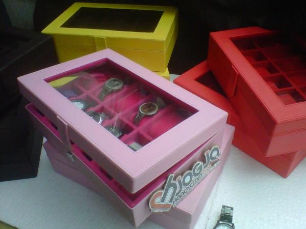 Box Jam Tangan isi 12 Baby Pink