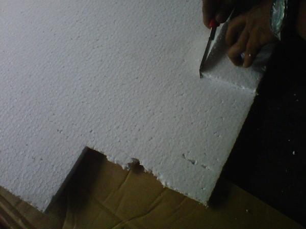 Lapisan Styrofoam