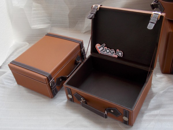 Vintage Leather (imitation) Box