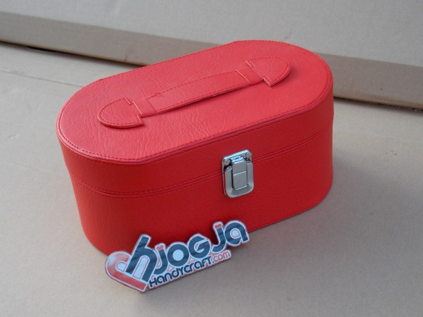 Red Ovalium Jewelry Box Organizer