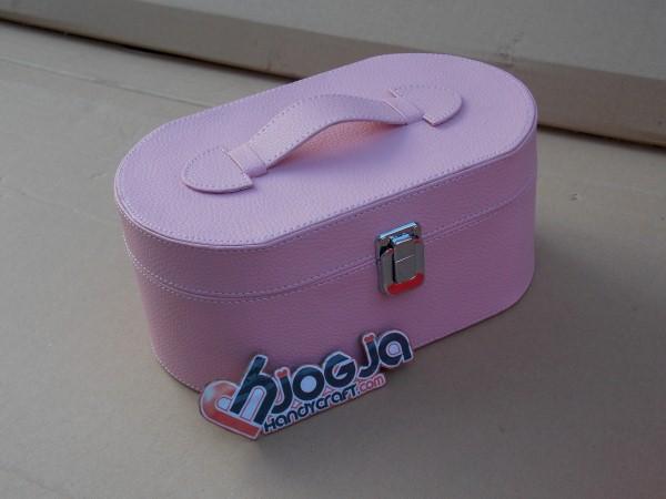 Baby Pink Ovalium Jewelry Box Organizer