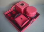 Trayset Lengkap 4in1 Minimalis Cocok Untuk Meja Tamu