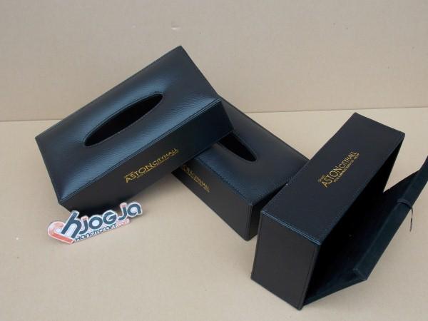 Box Tissue Cantik dari Kulit sintetis