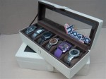 Brocken White Watch Box For 6 Watches | Tempat Jam Tangan Isi 6