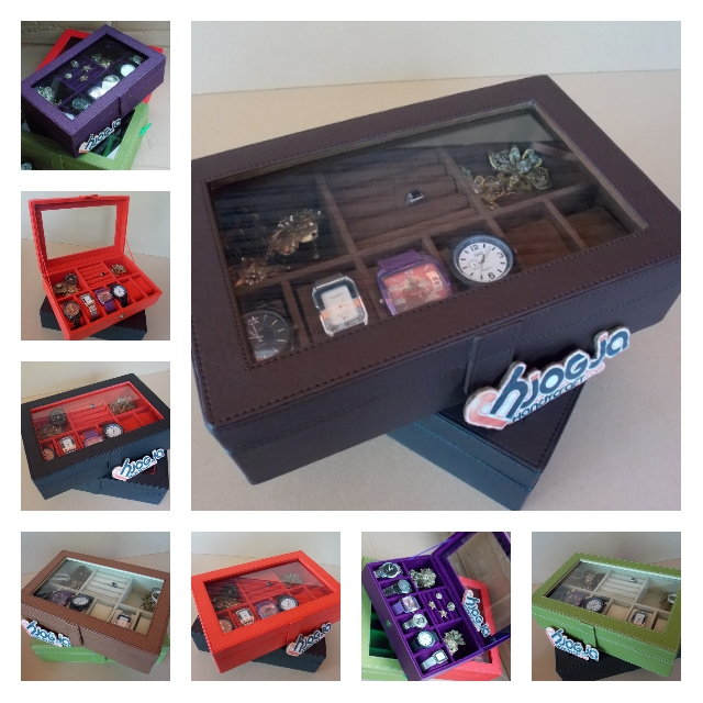 WATCH BOX ISI 6 MIX ACCESORIES HOLDER