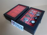 Black Inner Red Large Size Watch Box For 10 Sport Watches