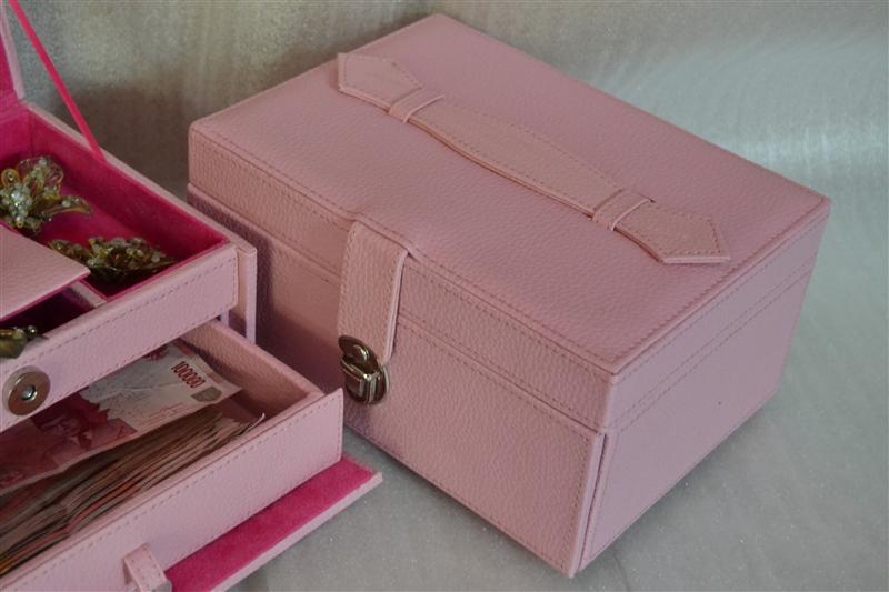 BABY PINK JEWELRY BOX | TEMPAT PERHIASAN | KOTAK PERHIASAN
