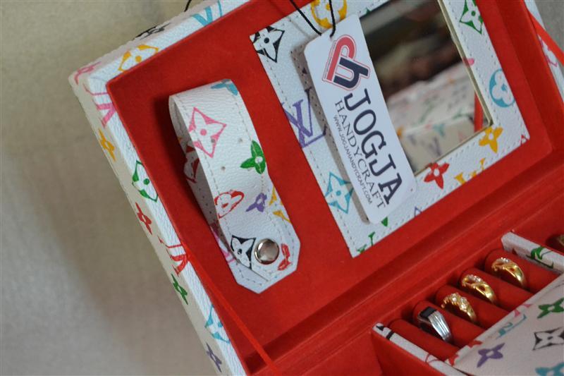 Square Drawer Jewelry Box   Tempat Perhiasan