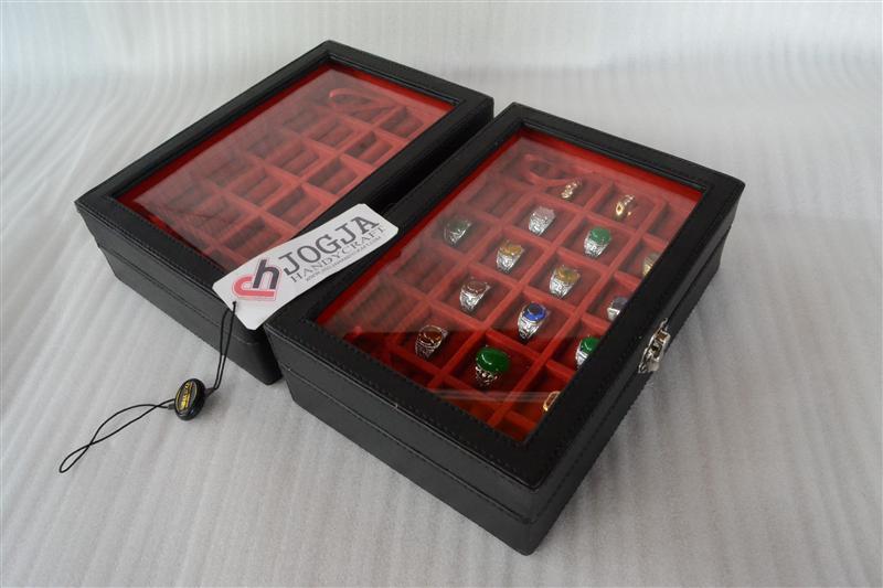 EXCLUSIVE LEATHER RING BOX | TEMPAT CINCIN | KOTAK CINCIN