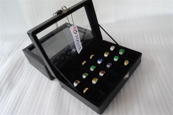 RING BOX, KOTAK CINCIN, BOX CINCIN AKIK, TEMPAT CINCIN ISI 24.
