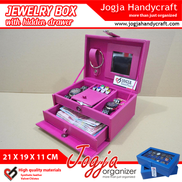 Brockenwhite Jewlery Box With Hidden Drawer