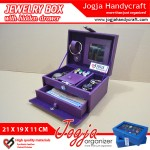 Colorfull Jewelry Box With Hidden Drawer | Kotak Tempat Perhiasan