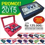 PROMO Akhir Tahun!! High Quality Watch Box Organizer For 12 Watches