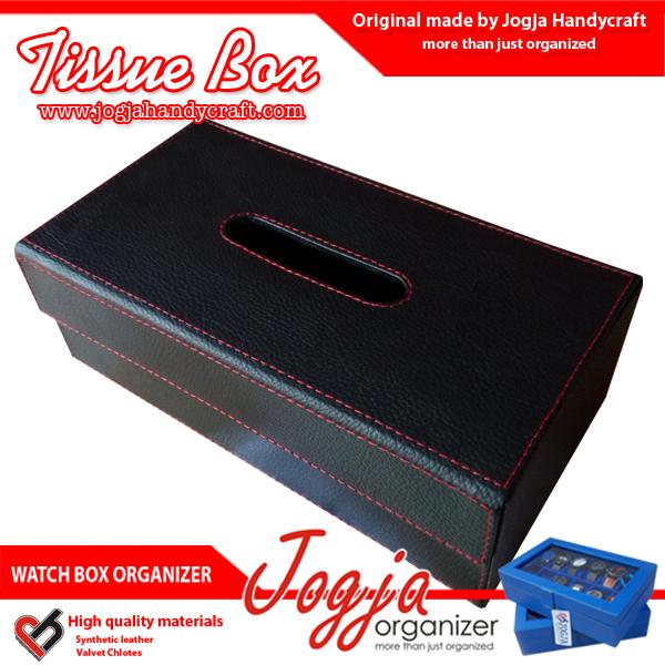 Tissue Box / Tempat Tissue / Kotak Tissue Unik Dari Kulit Sintetis