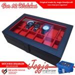 Varian Warna Kotak Tempat Jam Tangan Isi 12 Jogja Handycraft