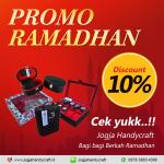 Discount 10% Untuk Semua Produk Jogja Handycraft