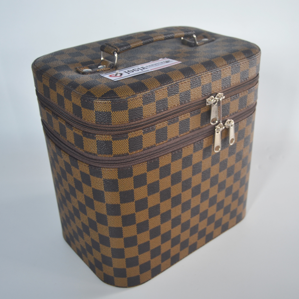 Exclusive JUMBO Size Tas Tempat Kosmetik Damier / Beautycase / Make up Pouch