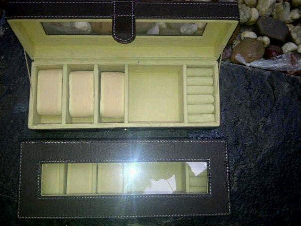 Box Jam isi 6 Kombinasi Tempat Perhiasan