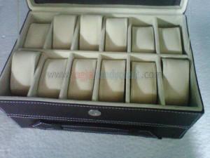 Box Jam Isi 12 Plus Laci Tempat Perhiasan Inner