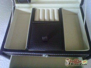 New Model Jewelry Box Coklat Elegan inner preview
