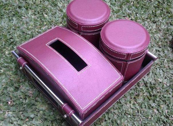 Photo of Tray Set Toples Isi 2 Toples Dan Tissue Box (2in1)