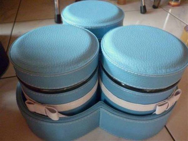 Tray Set Toples Isi 3 Toples Baby Blue
