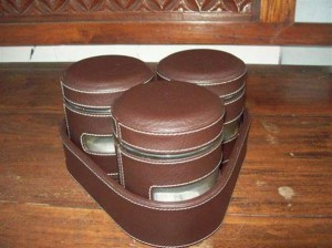 Tray Set Toples Isi 3 Toples Brown