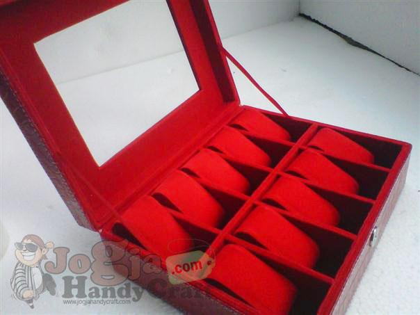 Red Croco Box Jam Isi 10