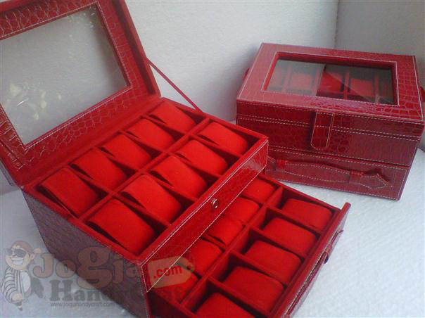 Photo of Red Croco Box Jam Tangan Susun Isi 20