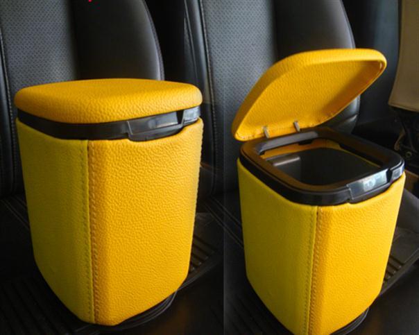 Photo of Tempat Sampah Mobil Lapis Vinyl Cantik