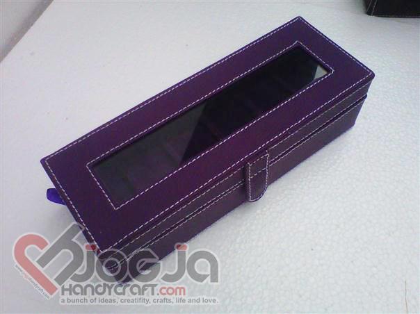 Box Jam Tangan Isi 6 Full Purple
