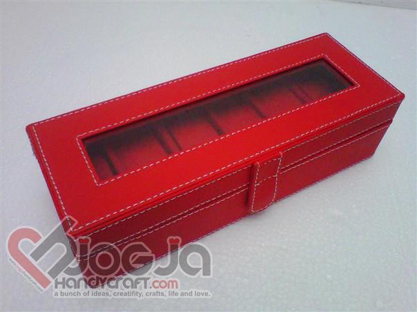 Box Jam Tangan Isi 6 Full Red